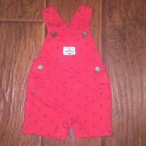 Carter's Nautical Style Overalls